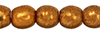Round Beads 3mm : ColorTrends: Saturated Metallic Hazel