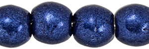 Round Beads 3mm : ColorTrends: Saturated Metallic Evening Blue