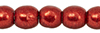 Round Beads 3mm : ColorTrends: Saturated Metallic Merlot