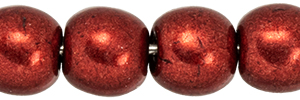 Round Beads 4mm : ColorTrends: Saturated Metallic Merlot