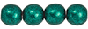 Round Beads 6mm : ColorTrends: Saturated Metallic Forest Biome