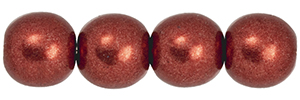 Round Beads 6mm : ColorTrends: Saturated Metallic Merlot