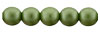 Glass Pearls 6mm : Olive