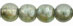 Round Beads 6mm: Luster - Transparent Green
