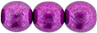 Round Beads 8mm : ColorTrends: Saturated Metallic Spring Crocus