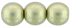 Round Beads 8mm : ColorTrends: Saturated Metallic Limelight