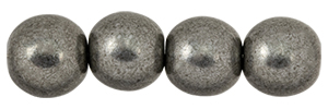 Round Beads 8mm : ColorTrends: Saturated Metallic Frost Gray