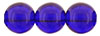Round Beads 8mm: Cobalt