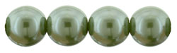 Pearl Coat - Round 8mm : Pearl - Sage Green