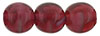 Round Beads 8mm : Pearl/Fuchsia
