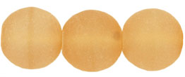 Round Beads 10mm : Matte - Lt Topaz
