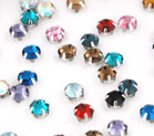 Crystal Rose Montees 4mm
