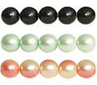Pearl Coat - Round 6mm