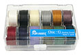 TOHO One-G Thread 50 Yard Spool : 12 Color Assortment Pack w/Case (2)