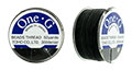 TOHO One-G Thread 50 Yard Spool: Black