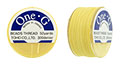 TOHO One-G Thread 50 Yard Spool: Lt Yellow
