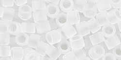 TOHO Aiko (11/0) 4g Pack : Transparent Frosted Crystal