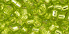 TOHO Aiko (11/0) : Transparent Silver-Lined Lime Green 50g