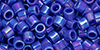 TOHO Aiko (11/0) : Opaque Navy-Blue Rainbow 50g
