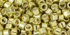 TOHO Aiko (11/0) : Galvanized Yellow Gold 50g