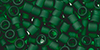 TOHO Aiko (11/0) : Transparent Frosted Green Emerald 50g