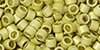 TOHO Aiko (11/0) : PermaFinish - Galvanized Matte Yellow Gold 50g