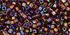 TOHO - Cube 1.5mm : Transparent-Rainbow Smoky Topaz