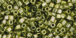 TOHO - Cube 1.5mm : Gold-Lustered Green Tea
