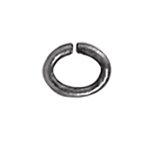 TierraCast : Jumpring - Small Oval 20 Gauge, Rhodium-Plated