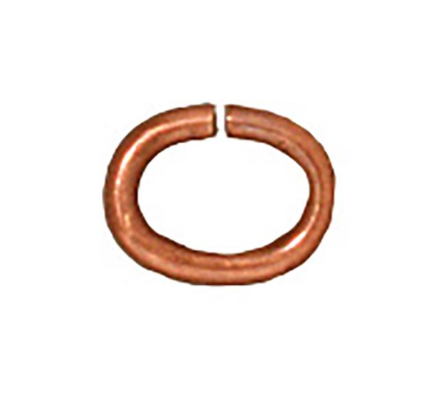 TierraCast : Jumpring - Medium Oval 20 Gauge, Solid Copper