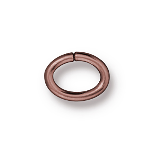TierraCast : Jumpring - Large Oval 17 Gauge, Copper-Plated