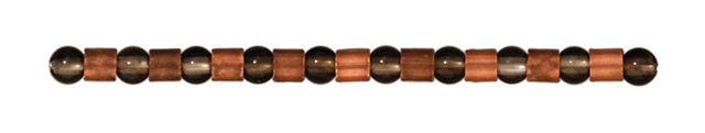 TierraCast : Crimp Bead - 2 x 2 mm, Antique Copper-Plated
