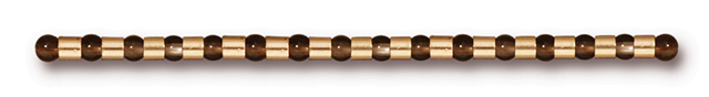 TierraCast : Crimp Bead - 2 x 2 mm, Gold-Plated