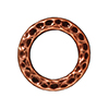 TierraCast : Link - 13mm, 8.7mm Hole, Medium Ring, Antique Copper