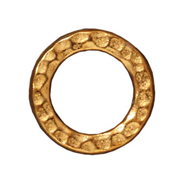 TierraCast : Link - 13mm, 8.7mm Hole, Medium Ring, Gold