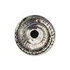 TierraCast : Bead Cap - 7 mm Shell, Antique Silver