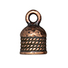 TierraCast : Cord End - 5mm Rope, Antique Copper