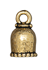 TierraCast : Cord End - 6mm Palace, Antique Gold