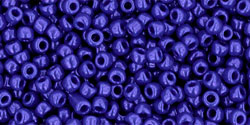 "TOHO Round 11/0 Tube 2.5"" : Opaque Navy Blue"