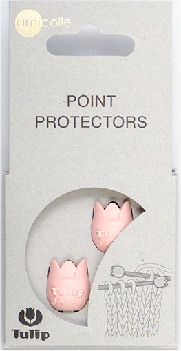 Tulip - Point Protectors (2 pcs) : Pink Small