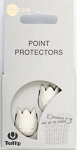 Tulip - Point Protectors (2 pcs) : White Large