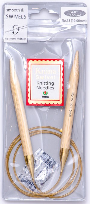 Tulip - 100cm Knina Circular Knitting Needles (1 pc) : Size 15 (10.00mm)