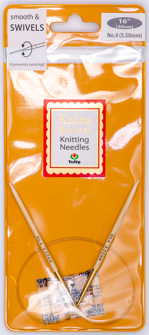 Tulip - 40cm Knina Circular Knitting Needles (1 pc) : Size 4 (3.50mm)