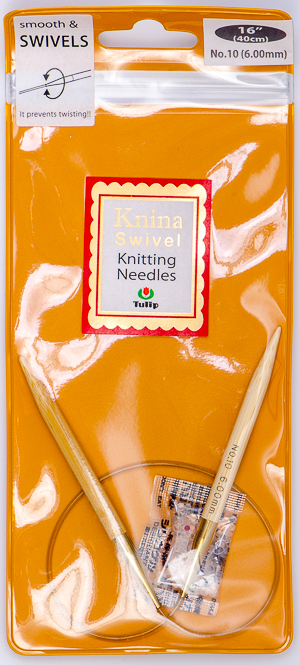 Tulip - 40cm Knina Circular Knitting Needles (1 pc) : Size 10 (6.00mm)