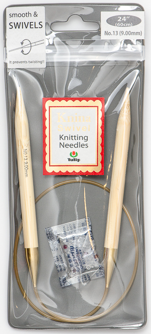 Tulip - 60cm Knina Circular Knitting Needles (1 pc) : Size 13 (9.00mm)