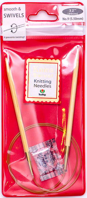 Tulip - 80cm Knina Circular Knitting Needles (1 pc) : Size 9 (5.50mm)