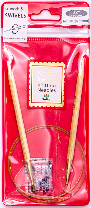 Tulip - 80cm Knina Circular Knitting Needles (1 pc) : Size 10 1/2 (6.50mm)
