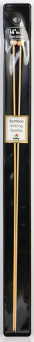 "Tulip - 14"" (35cm) Bamboo Knitting Needles (5 pcs) : Size 0 (2.00mm)"
