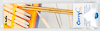 Tulip - CarryC Long Interchangeable Bamboo Knitting Needles (2 pcs) : Size 4 (3.50mm)