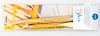 Tulip - CarryC Long Interchangeable Bamboo Knitting Needles (2 pcs) : Size 13 (9.00mm)